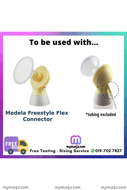 Connector to Connect Tubing to Medela Freestyle Flex Breast Shield
